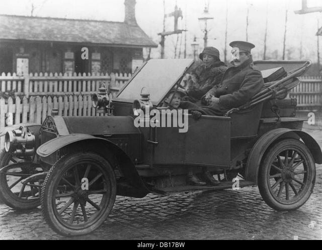 1912 Belsize 10-12hp - Stock Image