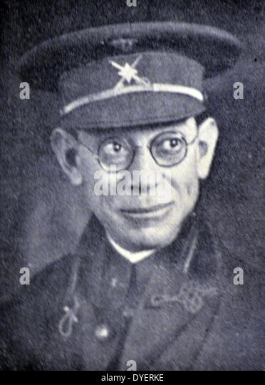 General Emilio Mola, Director General of Security - Stock Image