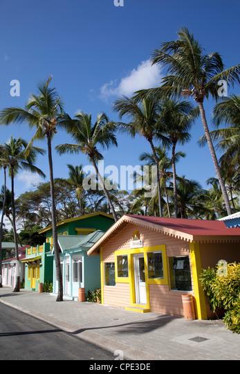 Riu Caribbean Street, Bavaro Beach, Punta Cana, Dominican Republic, West Indies, Caribbean, Central America - Stock Image