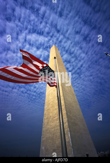 Washington Monument, Washington D.C. - Stock Image