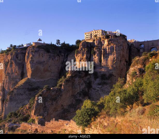Spain Andalucia Ronda Parador - Stock Image