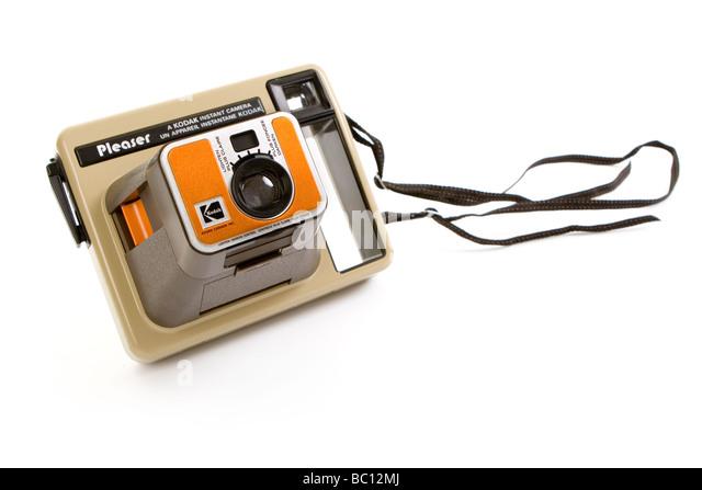PLEASER KODAK Instant Camera 1977 - 1982 - Stock Image