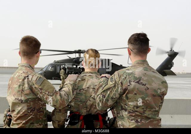 Arifjan Kuwait Spc Cody Scriven Scott Ferris Guide Sgt Hannah Female Prison Inmate Black Hawk