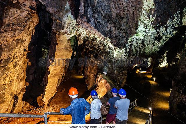 South Africa African Johannesburg Muldersdrift Sterkfontein Caves hominin site human ancestor Cradle of Humankind - Stock Image