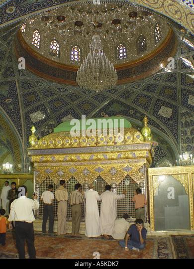 Jami as-Saidat Ruqaiya, destination for shiism pilgrim from iran - Stock Image