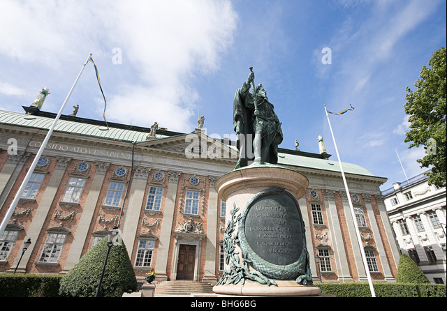 House of nobility in stockholm - Stock Image