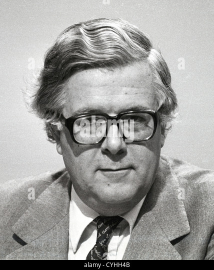 Sir Geoffrey Howe is a former British Conservative politician. Richard Edward Geoffrey Howe - Stock Image