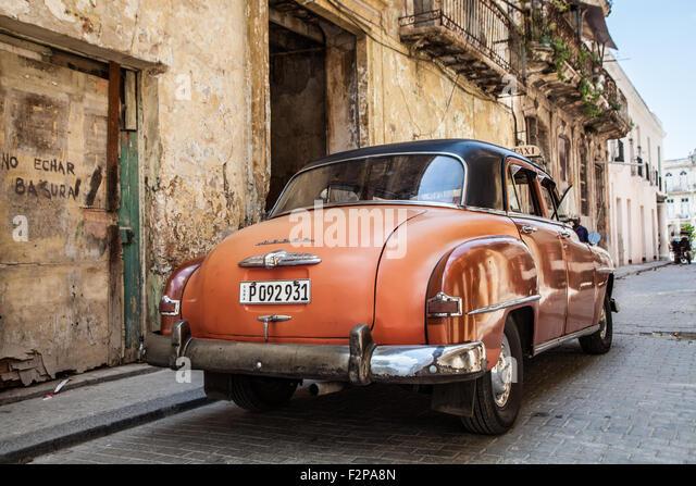 Havana Cars - Stock-Bilder
