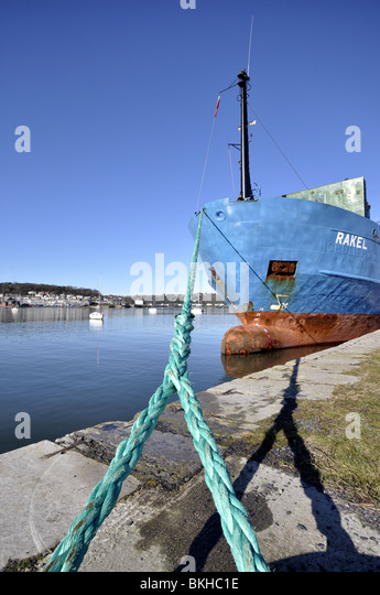 Bangor port stock photos bangor port stock images alamy for Clements fishing barge