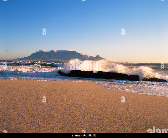 South Africa Cape Town Table Mountain - Stock-Bilder
