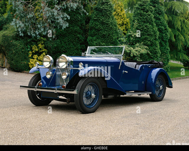 1934 Talbot 105 Vanden Plas tourer 3 0 litre Country of origin United Kingdom - Stock Image