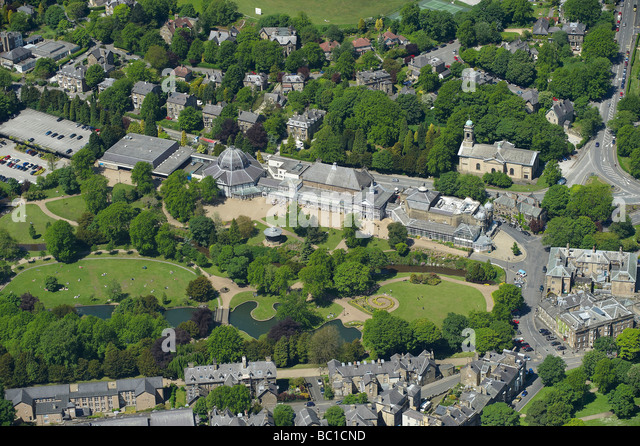 Buxton Derbyshire, Northern England - Stock Image