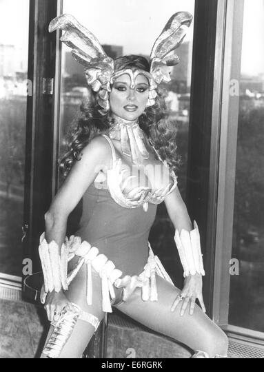 Feb 19, 1981 - London, England, United Kingdom - Exact date unknown - SYBIL DANNING (born May 24, 1947) is an Austrian - Stock Image