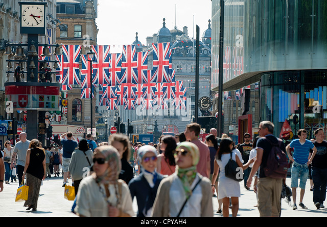 Leicester Square, London, United Kingdom - Stock Image