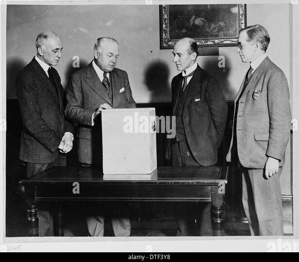 Chang film presentation, 1927.  The Natural History Museum, London. - Stock Image