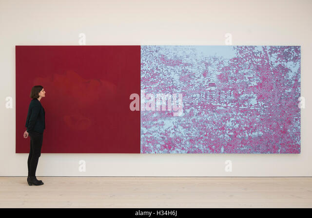 London, UK. 3 October 2016. Henri Barande exhibition opens at Saatchi Gallery and runs from 4 to 31 October 2016. - Stock Image