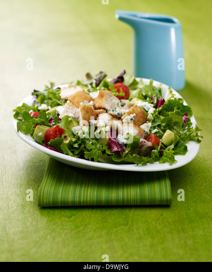 chicken salad - Stock Image