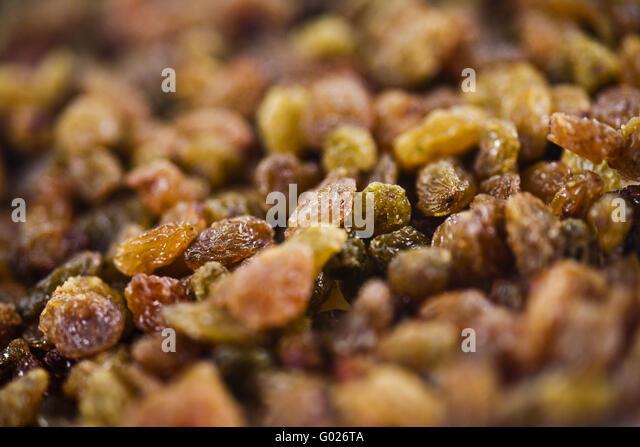 raisins - Stock Image