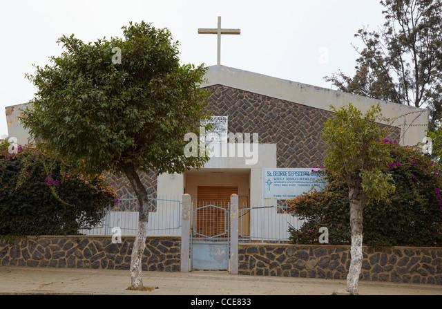 Saint George's Episcopal Church, Asmara, Eritrea, Africa - Stock Image