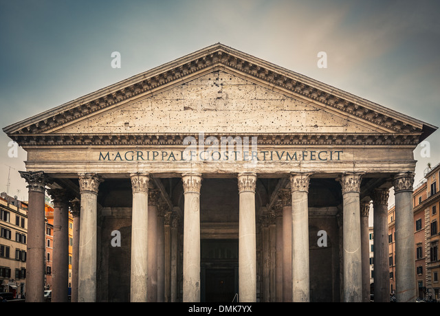 Pantheon in Rome, Italy - Stock-Bilder