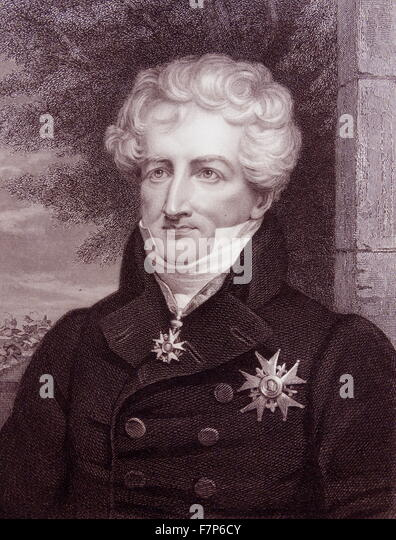 Georges Leopold Cuvier, Baron Cuvier 1769-1832 - Stock Image