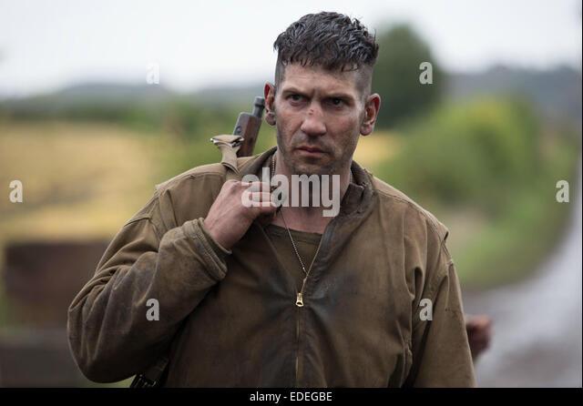 FURY (2014) JON BERNTHAL DAVID AYER (DIR) MOVIESTORE COLLECTION LTD - Stock Image