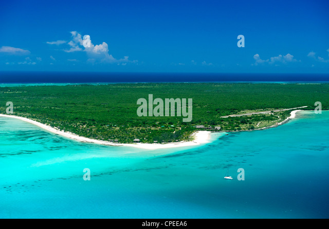Matemo island in the Quirimbas archipelago off the coast of Mozambique. - Stock Image