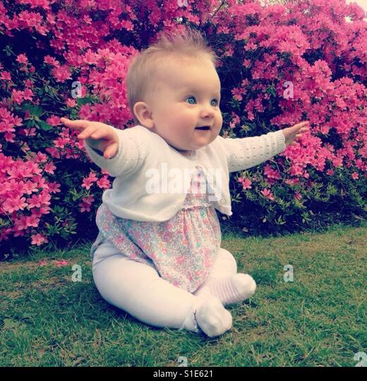 Baby Girl - Stock-Bilder