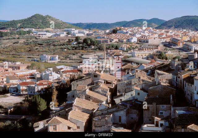 Cehegin. Murcia province. - Stock Image