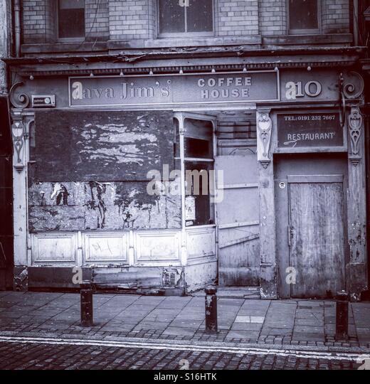 Abandoned Buildings Newcastle Uk: Derelict Shop Stock Photos & Derelict Shop Stock Images