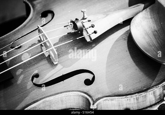 Close up guitar - Stock Image