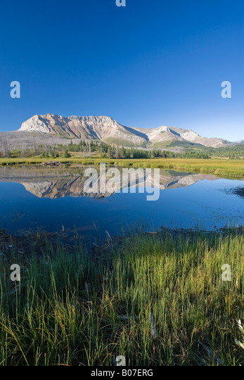 Sofa Mountain, Waterton Lakes National Park, Alberta, Canada - Stock Image