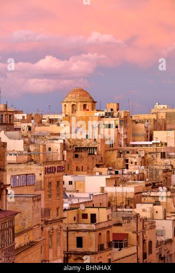 Greek Catholic Church, Valletta - Stock-Bilder