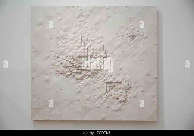 abstract ceramics art work figurative panels rut bryk - Stock Image
