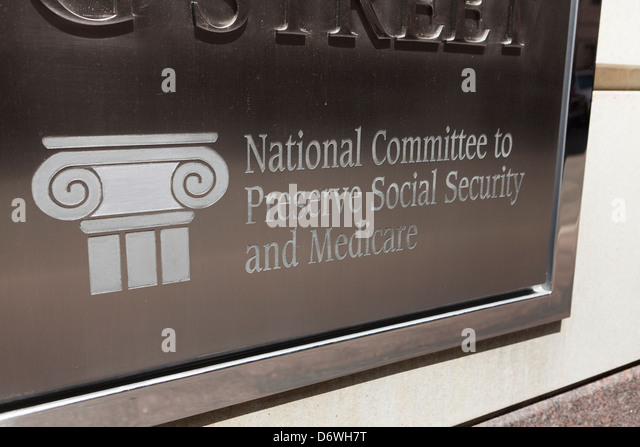 National Committee to Preserve Social Security and Medicare - Washington, DC USA - Stock Image