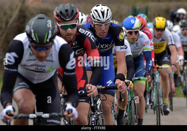 Deinze, Belgium. 27th Mar, 2016. VANDENBERGH Stijn (BEL) Rider of ETIXX - QUICK STEP in action during the Flanders - Stock-Bilder