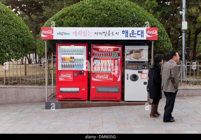 coca cola beverage machine