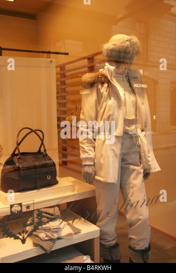 Loro Piana shop  Montenapoleone street  Milan  Lombardy  Italy - Stock Image