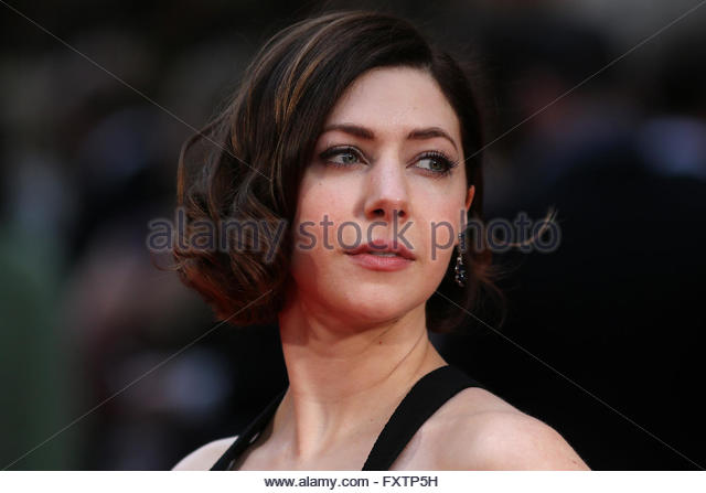 Catherine Steadman  poses at a film premier in London. April 2016. - Stock-Bilder