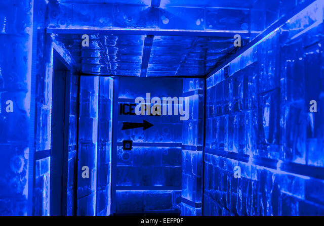 Karlovy Lazne Ice  Pub nightclub in old town Stare Mesto Prague Czech Republic - Stock-Bilder