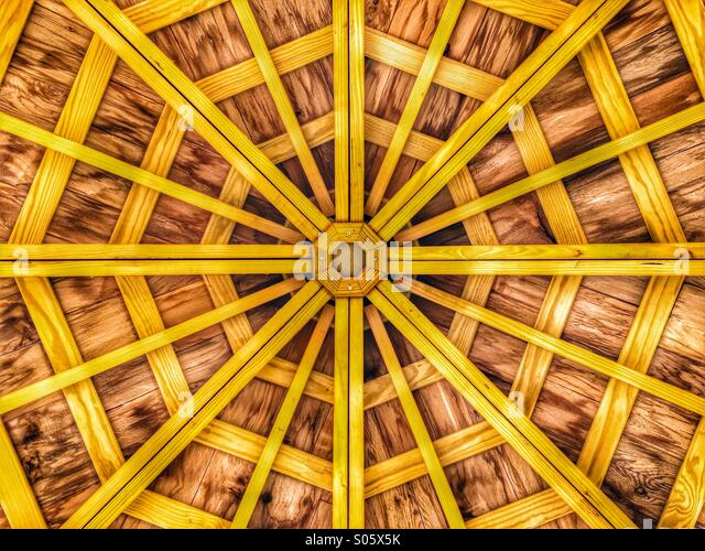 Gazebo roof - Stock-Bilder