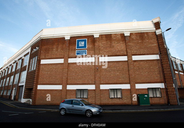 Gm manufacturing luton stock photos gm manufacturing for E house manufacturers usa
