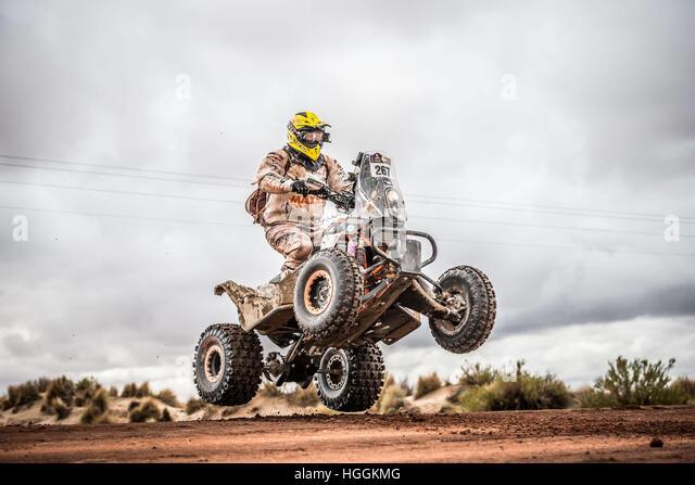 La Paz, Bolivia. 9th Jan, 2017. 267 Kees Koolen (HOL) of Barren Racer) during the Dakar Rally in 2017. Credit: Foto - Stock Image