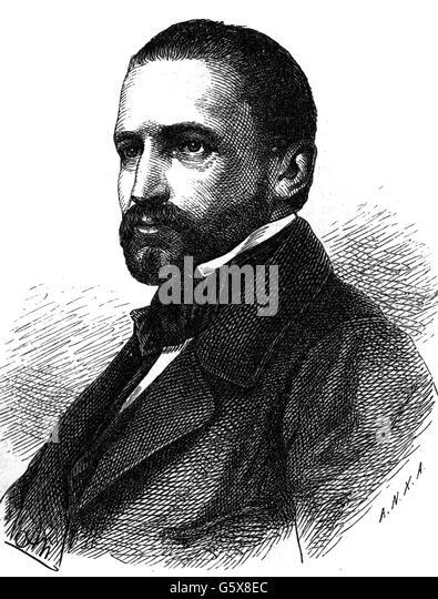 Friedrich Albrecht Count zu Eulenburg, 19th century - Stock Image