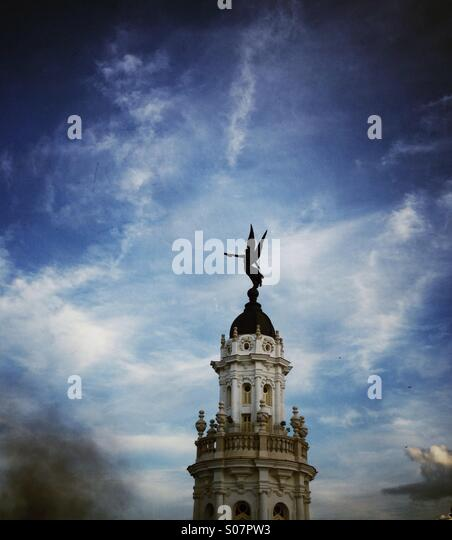 Cuban classical architecture Havana. - Stock-Bilder