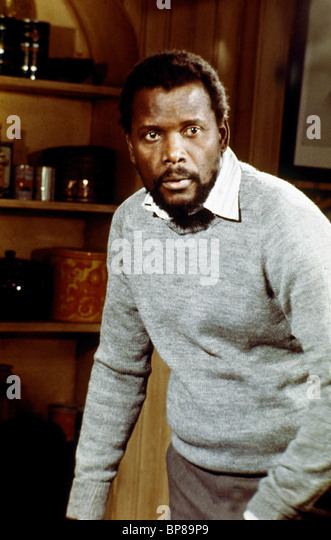 SIDNEY POITIER THE WILBY CONSPIRACY (1975) - Stock Image