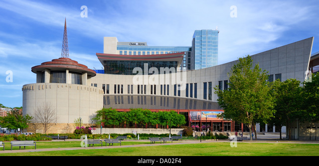 Nashville Country Music Hall of Fame. - Stock Image