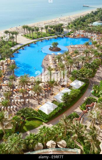 Atlantis The Palm Dubai Pool Stock Photos Atlantis The