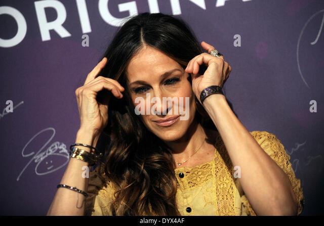 New York, NY, USA. 25th Apr, 2014. Sarah Jessica Parker attends Variety's Power of Women: New York lunch at - Stock Image