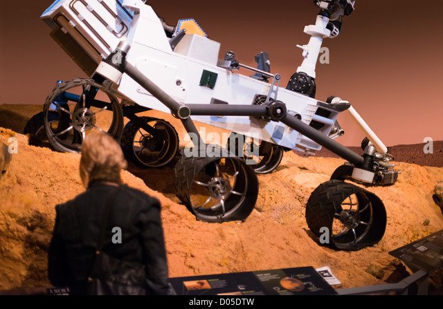 This is an image from part of the new Space discovery exhibition at the Ontario Science Centre. - Stock Image